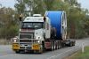 allways on the roads these Oversize Roadtrains