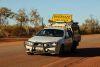 Oversize transport head vehicle