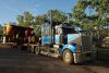 Oversize Roadtrain at  Timber Creek Roadhouse, NT