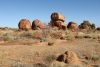 Karlu Karli (Devils Marbles) at the afernoon