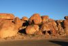 Karlu Karli (Devils Marbles) at the sunrise