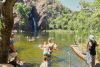 Natural water pool at Litchfield National Parc, NT