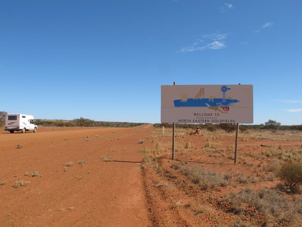 Great Central Road to West Australia