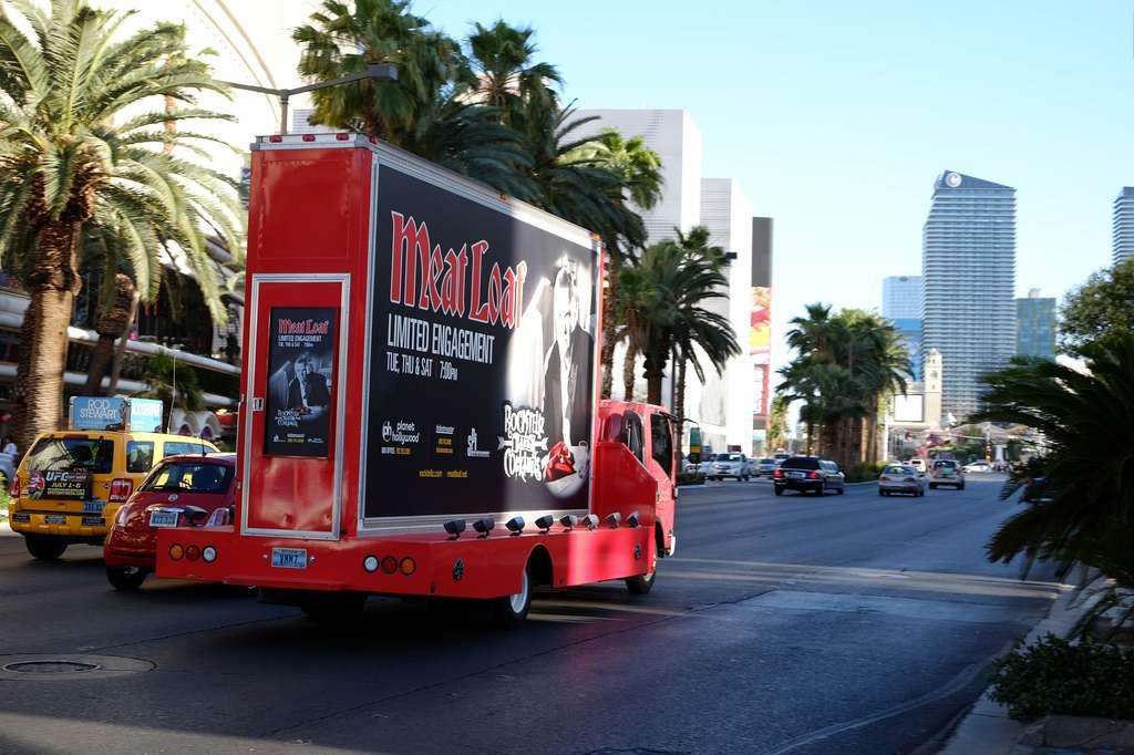 Entertainement on the Strip of Las Vegas