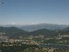 Muzzano, Soregno und die Alpen